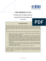 ESI - The Merkel Plan - Compassion and Control - 4 October 2015