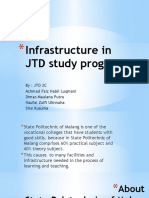 Infrastructure in JTD Study Program