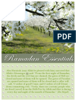 Ramadan Essentials 07152013