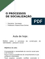 Instituições e Processos de Socialização 2