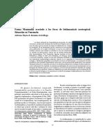 Fauna Mammalia asociada a los focos de leishmaniasis neotropical. venezuela.pdf