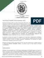 Setencia Visado Estados Financieros