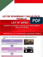 Ley y Reglamento Sst -Ley 29783