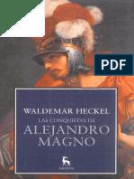 Waldemar Heckel, Las Conquistas de Alejandro Magno