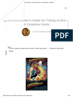 The Overthinker's Guide for Taking Action_ a Complete Guide - StartupBros