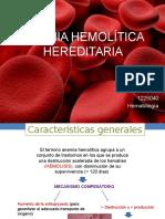 Anemia Hemolitica Hereditaria