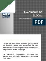 Taxonomía de Bloom