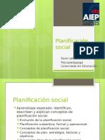 Planificacion Social