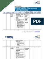 Cronograma de Tegnologia Educativa