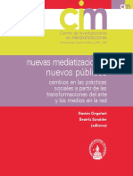 Cingolani Szneider Nuevas Mediatizaciones Nuevos Publicos