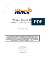 WipAir S-IDU Manual