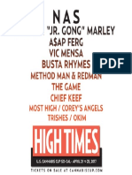 Line Up for SoCal