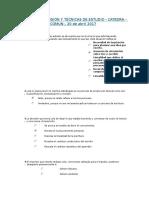 Lecto Comprensión y Técnicas de Estudio tp 1