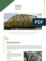 Brochure Ingenieria y Contratos s.a.s