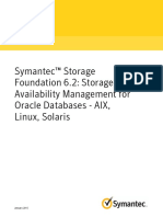 Sfhas Oracle Admin 62 Unix