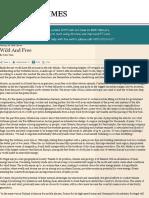 Manuel Pinho | Wild and free- FT.com