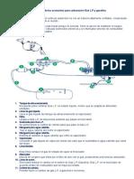 Diagrama de Los Accesorios Para Carburación Gas L