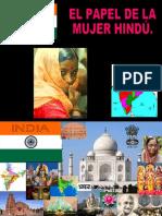 El Papel de La Mujer Hindu