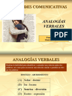 ANALOGIAS VERBALES