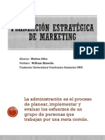 Planeación Estratégica de Marketing - Mlsc