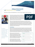 Woodrow Wilson Rehabilitation Center Goes Digital with DocFinity