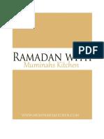 Ramadan with Muminahs Kitchen 2017