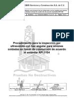PND-PR-08 API 1104