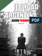 Silvio Frondizi, La Realidad Argentina. Tomo II. La Revolución Socialista