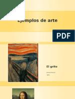 Ejemplos de Arte