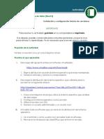 Instalacion y Configuración Básica de Servidores
