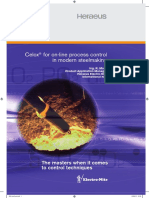 Celox for on-line Process Control in Modern Steelmaking - Rudi Maes