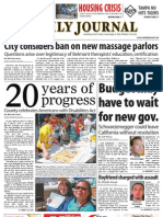 07-27-10 Issue of the Daily Journal