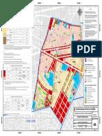 Plano de Zonificacion del distrito de Breña