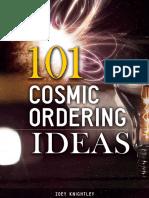 101 Cosmic Ordering Ideas