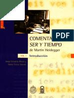 Rivera Jorge Y Stuven Ma Teresa - Comentario A Ser Y Tiempo De Martin Heidegger Tomo I.pdf