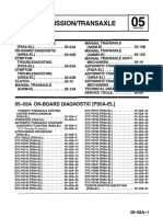 FS5A-EL 05 Transmission & Transaxle