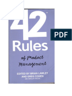 Product Management Rules