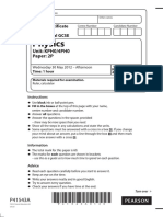 Physics Paper 6 Print Now