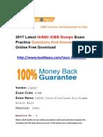 Latest IASSC ICBB Exam Questions Free Update