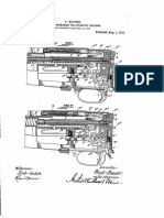 Mauser Rifle Automatic Us918760