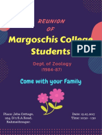 Reunion of Margoschis College Students
