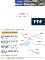Chapter 4- Slope Stability
