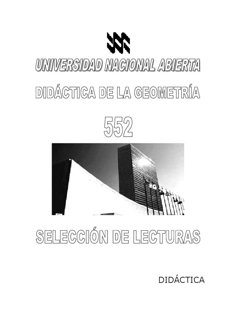 552) Didáctica de La Geometría - SL