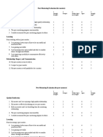 Peer Mentoring Survey Tool