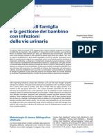 Il pediatra e la gestione del bambino con infezioni delle vie urinarie