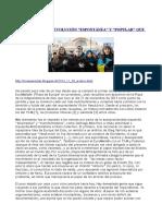 Euromaidán- La Revolución Espontánea y Popular Que Nunca Lo Fue