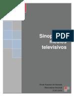 Sinopsis Medios Televisivos 27-07-10