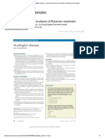 Huntington Disease _ Journal of the American Academy of Physician Assistants