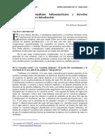 GARGARELLA 2013 Nuevo Constitucionalismo y derechos indígenas