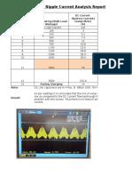 Sinewave Inverter DC Capacitor Ripple Current